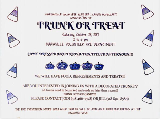 Trunk or Treat sign